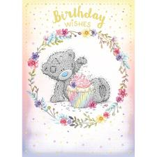 Birthday Wishes Sprinkling Cupcake Me to You Bear Birthday Card