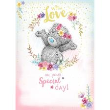 With Love On Your Special Day Me to You Bear Birthday Card