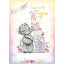Especially For You Stacking Gifts Me to You Bear Birthday Card