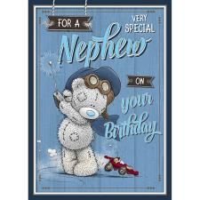 Very Special Nephew Me to You Bear Birthday Card