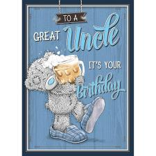 To A Great Uncle Me to You Bear Birthday Card