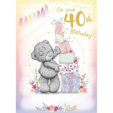 On Your 40th Me to You Bear Birthday Card