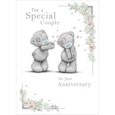Special Couple Me to You Bear Anniversary Card