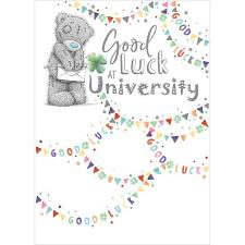 Good Luck At University Me to You Bear Card
