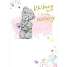 Speedy Recovery Get Well Soon Me to You Bear Card