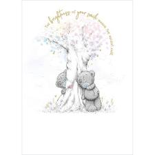 Bears Playing Around Tree Me to You Bear Card