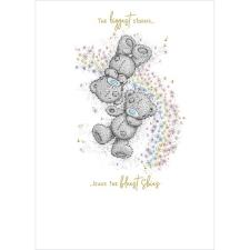 Bears Laying In Flowers Me to You Bear Card