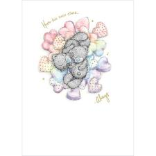 Bears and Hearts Me to You Bear Card