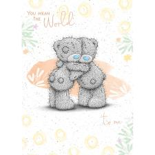 Bears Hugging Me to You Bear Card