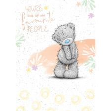 My Favourite Me to You Bear Card