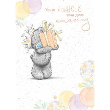 Year More Amazing Me to You Bear Birthday Card