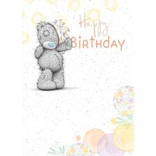 Happy Birthday Me to You Bear Birthday Card