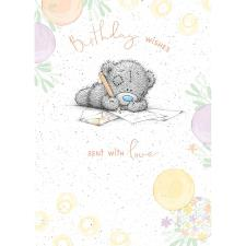 Birthday Wishes With Love Me to You Bear Birthday Card