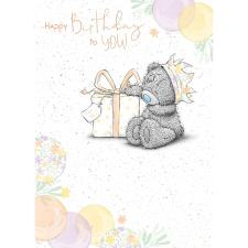 Birthday Gift Me to You Bear Birthday Card