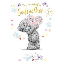 Wonderful Godmother Me to You Bear Birthday Card