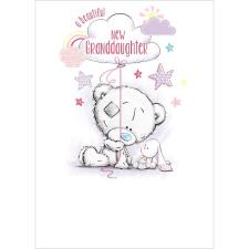 New Baby Granddaughter Me To You Bear Card