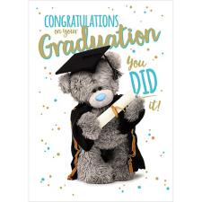 Congratulations On Your Graduation Me to You Bear Card