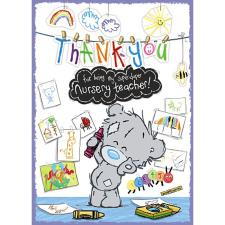 Thank You Nursery Teacher Me To You Bear Card