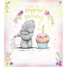 Happiest Birthday Cupcake Me to You Bear Birthday Card