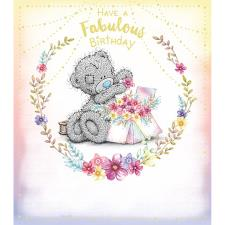 Fabulous Birthday Flower Box Me to You Bear Birthday Card