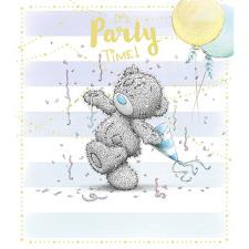 Party Time Streamers Me to You Bear Birthday Card