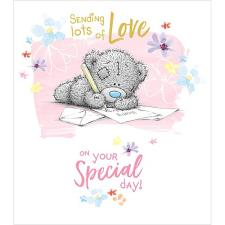 Sending Lots Of Love Me to You Bear Birthday Card