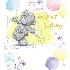 Tatty Teddy Dancing Me to You Bear Birthday Card