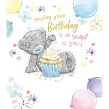 Tatty Teddy With Cupcake Me to You Bear Birthday Card