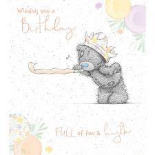 Birthday Blower Me to You Bear Birthday Card