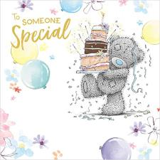Someone Special Me to You Bear Birthday Card