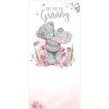 Granny Holding Chocolates Me To You Bear Birthday Card