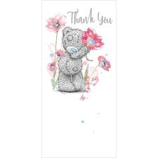 Holding Flower Me To You Bear Thank You Card