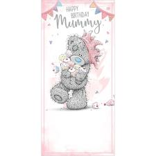 Holding Cupcakes Mummy Me To You Bear Birthday Card