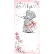 Special Friend Me to You Bear Birthday Card