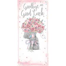 Goodbye & Good Luck Me To You Bear Card