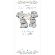 Wonderful Couple Me to You Bear Anniversary Card