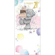 Happy 21st Me to You Bear Birthday Card