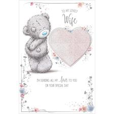 Lovely Wife Pop Up Me To You Bear Birthday Card