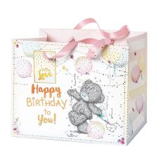 Happy Birthday To You Medium Me to You Bear Gift Bag