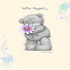 Me to You Bear Regret Notes