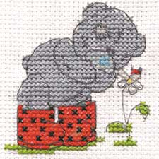 Springtime Me to You Bear Mini Cross Stitch Kit