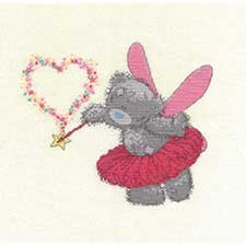 Pink Fairy Me to You Bear Cross Stitch Kit