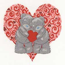 Love Bears Me to You Bear Cross Stitch Kit