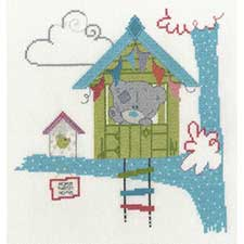 Home Tweet Home Me to You Bear Cross Stitch Kit