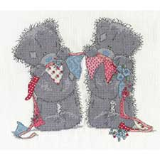 Bunting Bears Me to You Bear Cross Stitch Kit