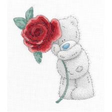 Rose Me to You Bear Cross Stitch Kit