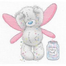 Fairy Dust Me to You Bear Cross Stitch Kit