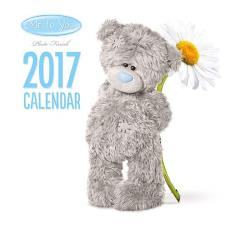 2017 Me to You Bear Photo Finish Mini Square Calendar