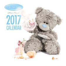 2017 Me to You Bear Photo Finish Square Calendar