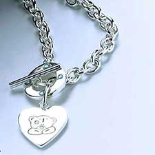 Me to You Bear Charm Necklace